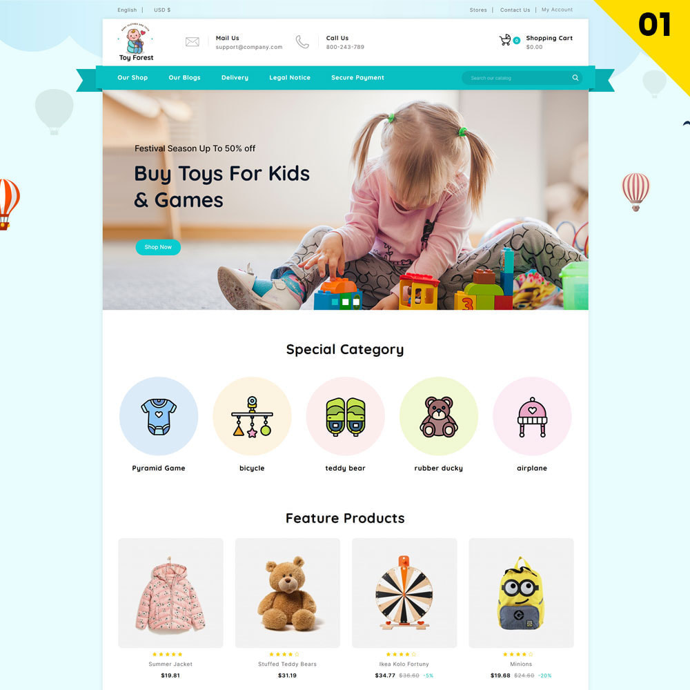 theme - Enfants & Jouets - ToyForest - Le magasin Mega Kids - 3