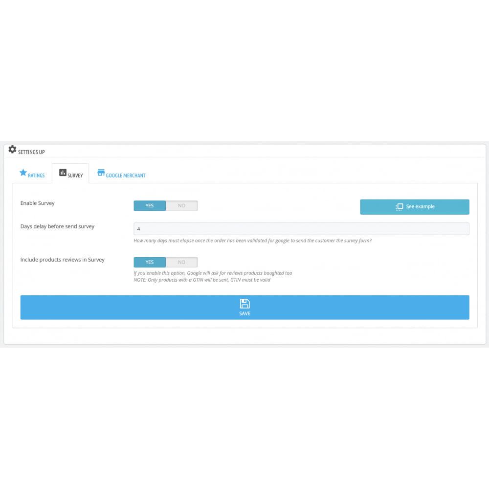 module - Kundenbewertungen - Google Customer Reviews by Google - 5