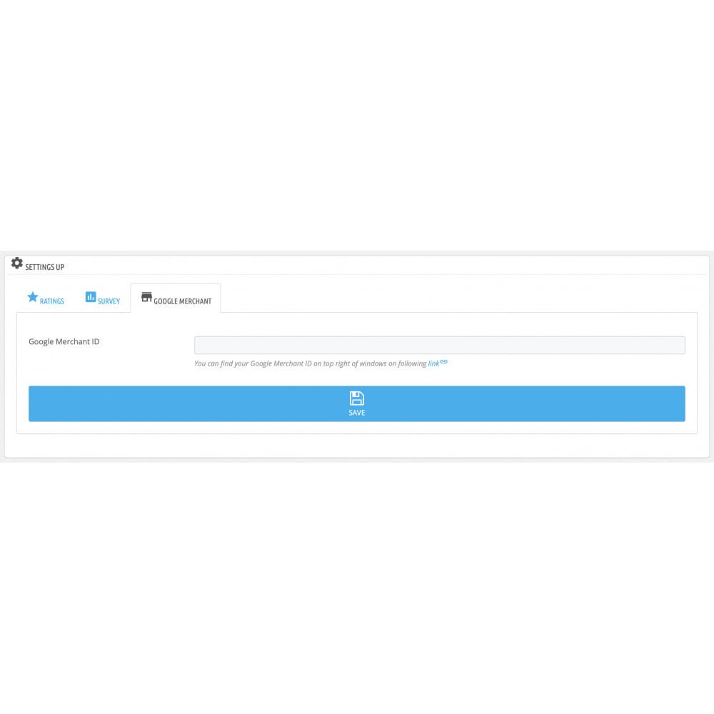 module - Kundenbewertungen - Google Customer Reviews by Google - 6