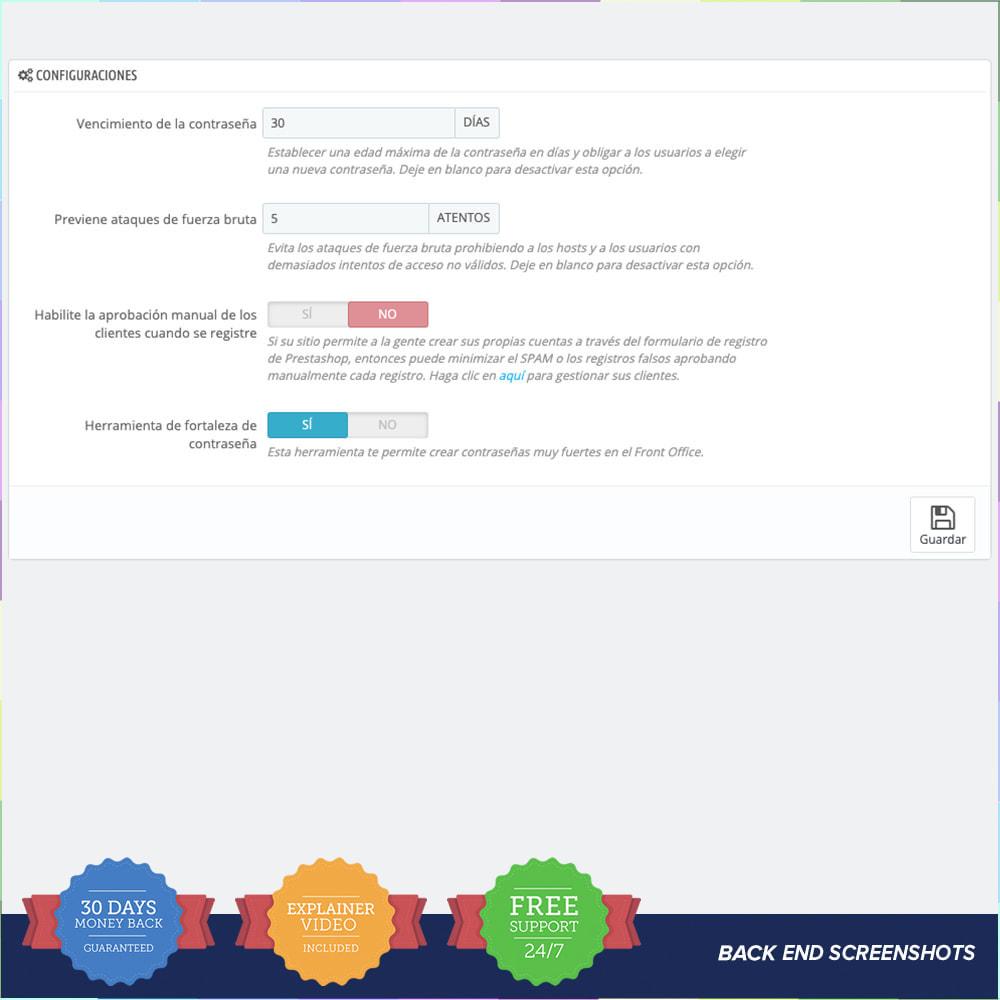 module - Seguridad y Accesos - Proteger a los clientes PRO - 1