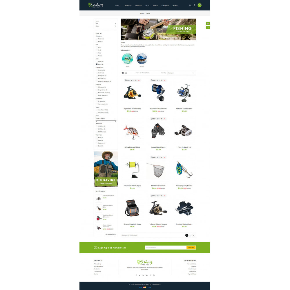 theme - Sport, Loisirs & Voyage - Fishing Equipment - 3
