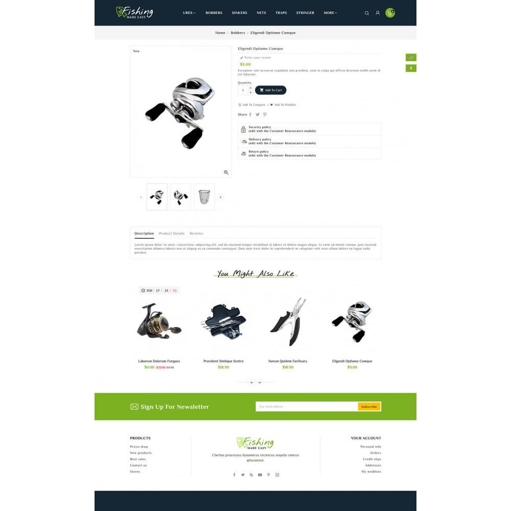 theme - Sport, Loisirs & Voyage - Fishing Equipment - 5