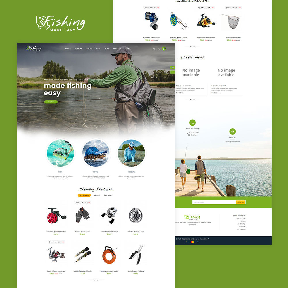 theme - Sport, Activiteiten & Reizen - Fishing Equipment - 2