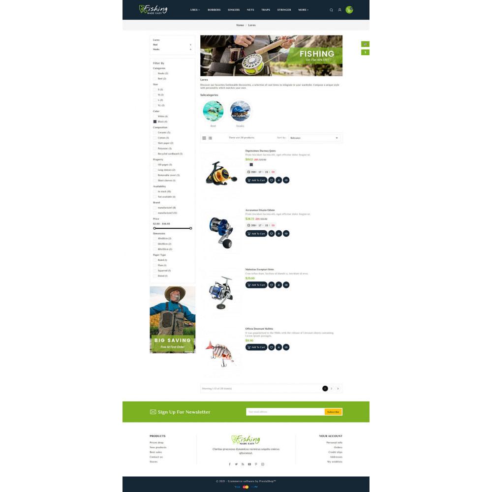 theme - Sport, Rozrywka & Podróże - Fishing Equipment - 5