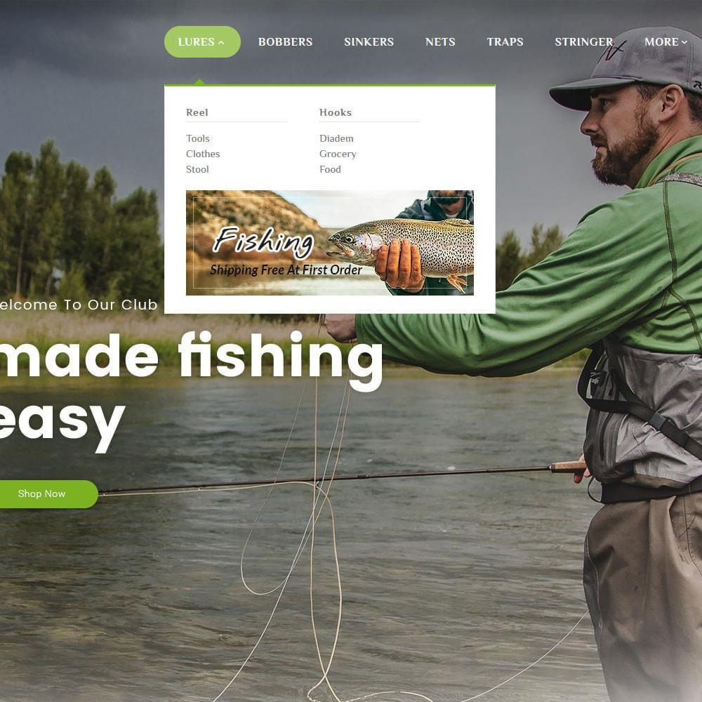 theme - Sport, Rozrywka & Podróże - Fishing Equipment - 10