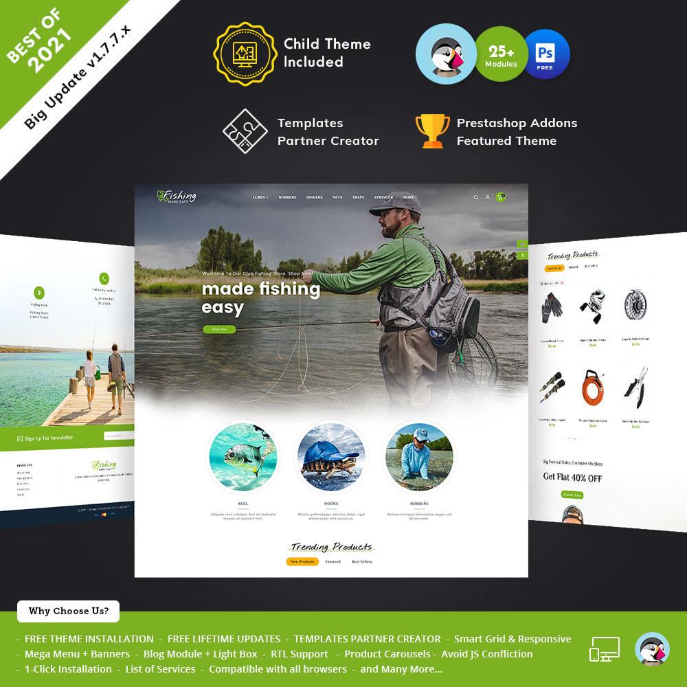 theme - Desporto, Actividades & Viagens - Fishing Equipment - 1