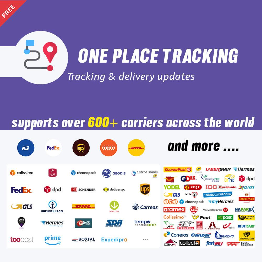 module - Отслеживание заказа - Shipment Tracking - 1