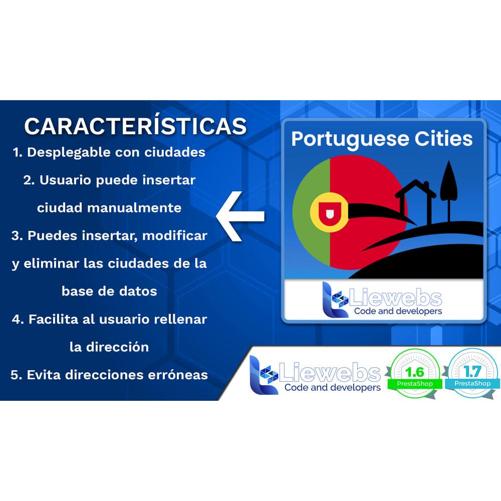 module - Inscripción y Proceso del pedido - Portuguese Cities (Ciudades y pueblos portugueses) - 2