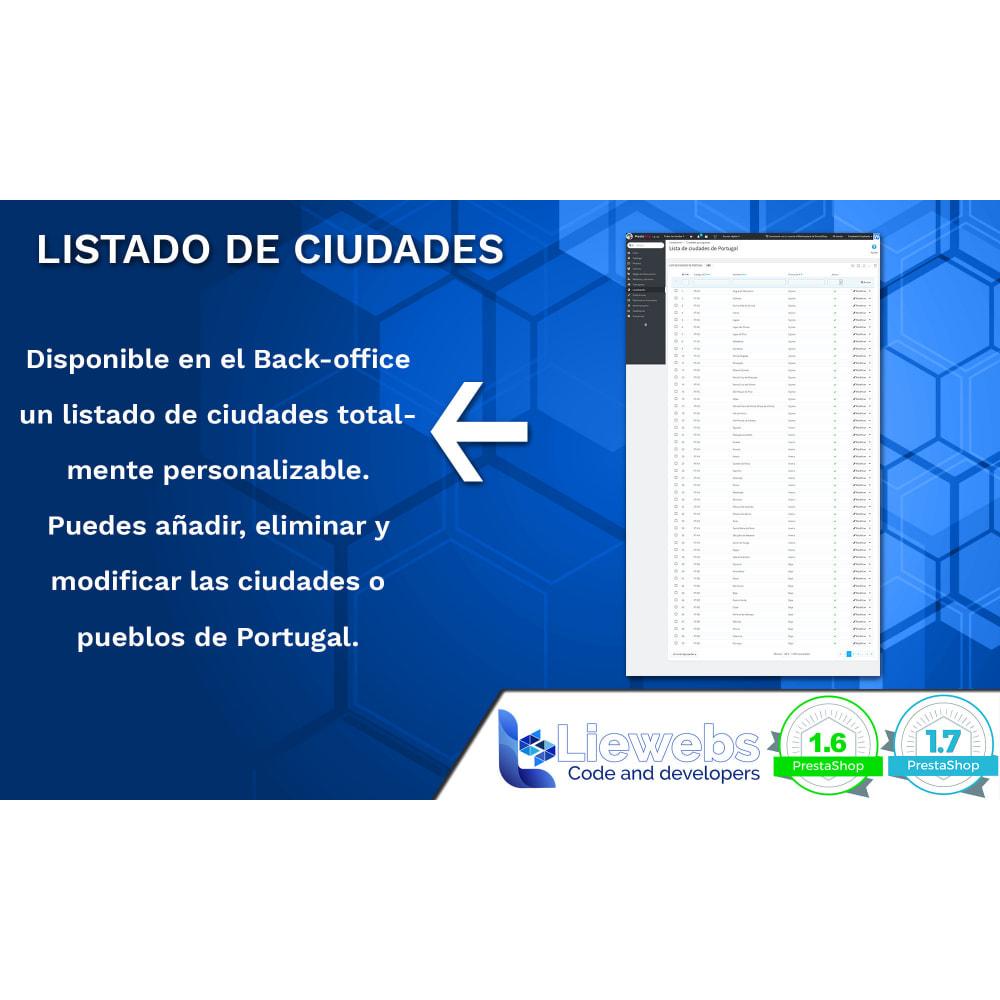 module - Inscripción y Proceso del pedido - Portuguese Cities (Ciudades y pueblos portugueses) - 4