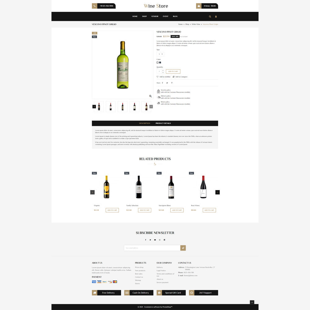 theme - Drink & Tobacco - Wine Store - 4