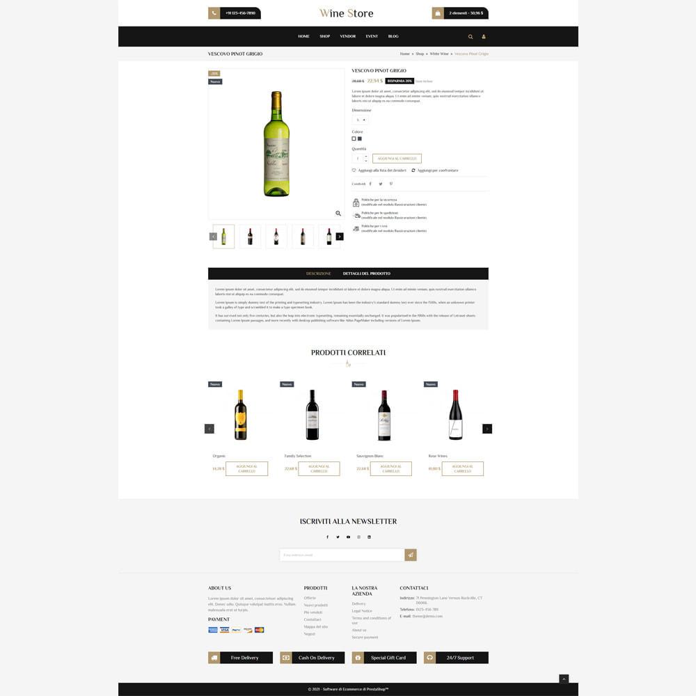 theme - Drink & Wine - Negozio di vini - 4