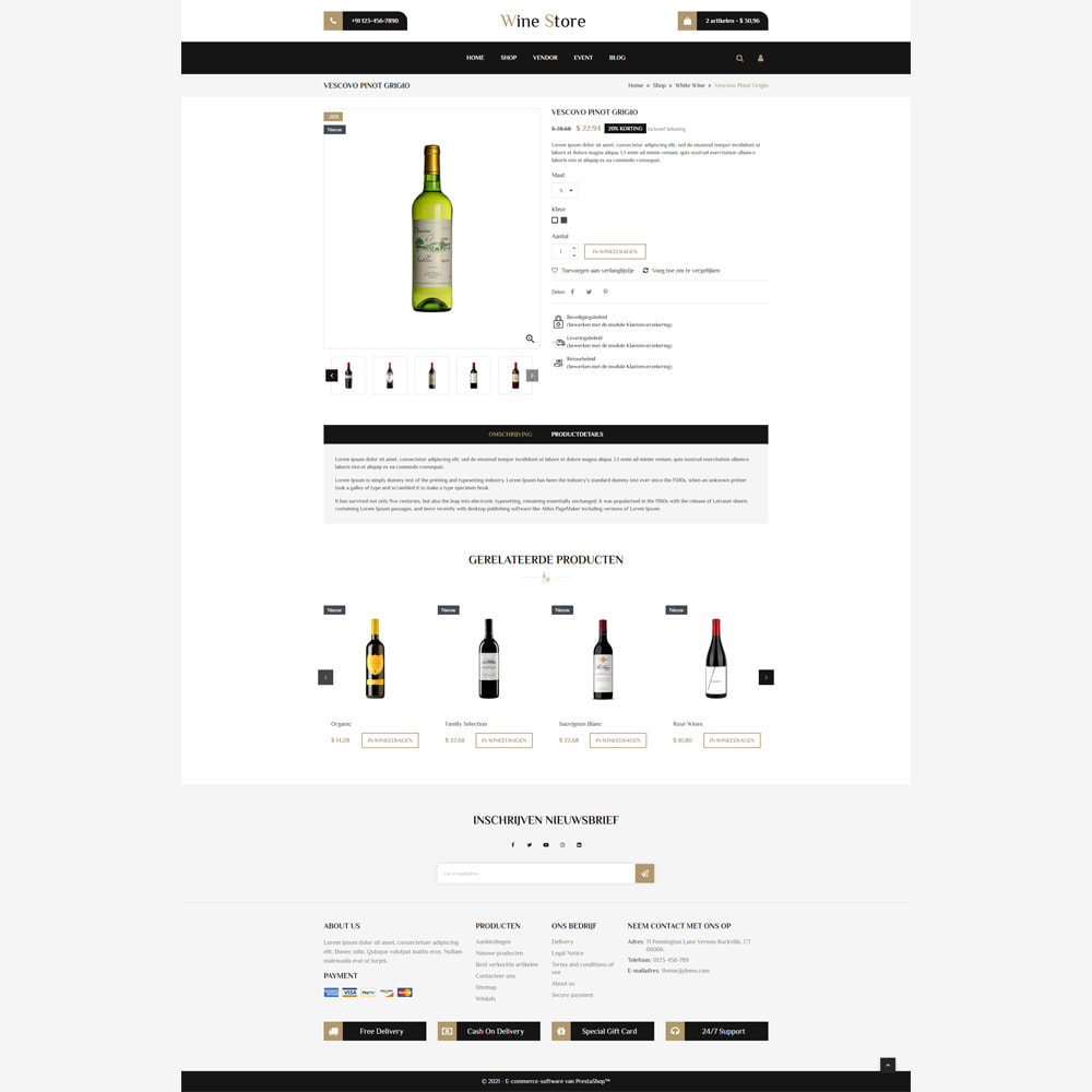 theme - Drank & Tabak - Wijnwinkel - 4