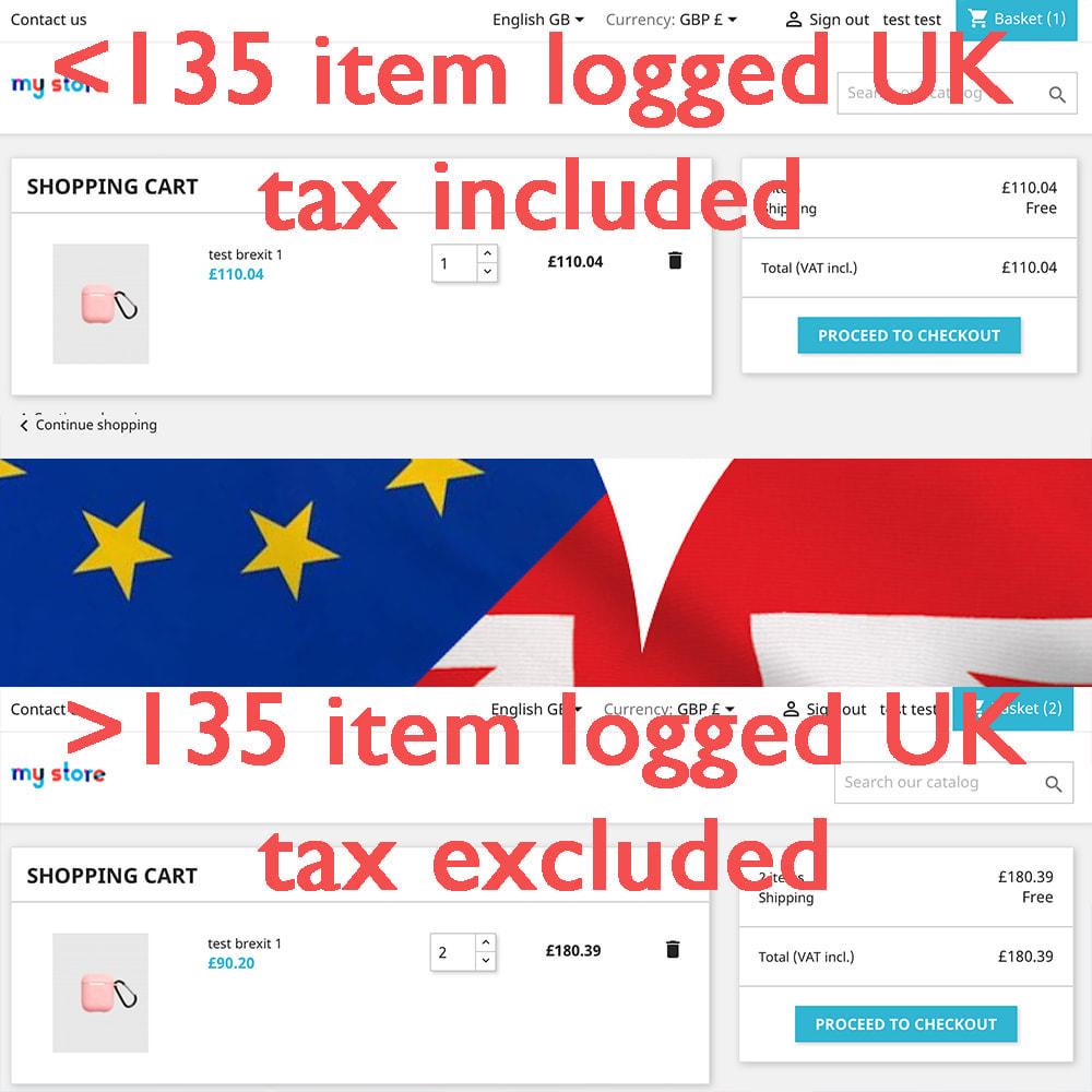 module - Gestão de preços - Brexit and EU VAT Ultimate + Vies VatNum. check online - 2