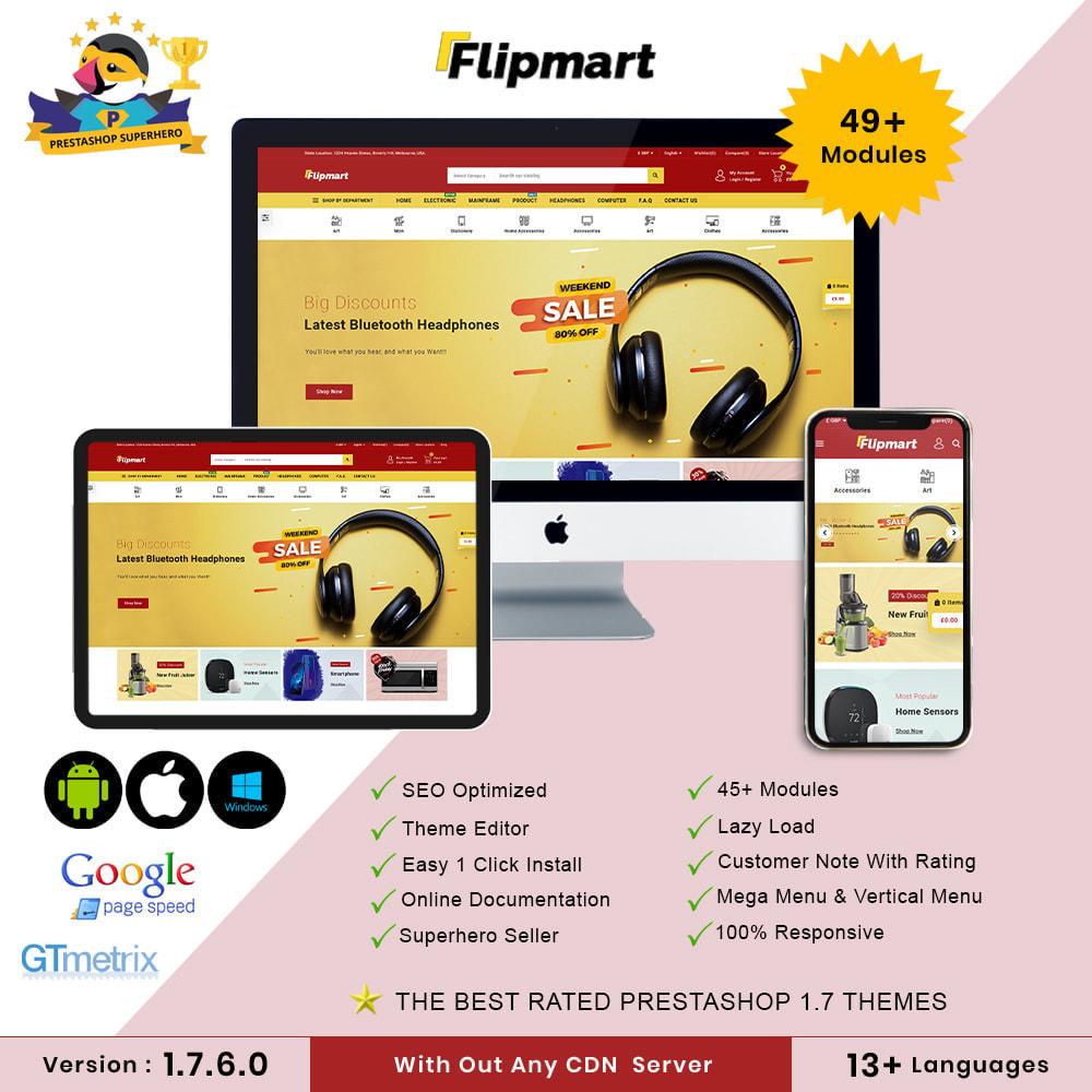 theme - Electrónica e High Tech - Flipmart Store - 1