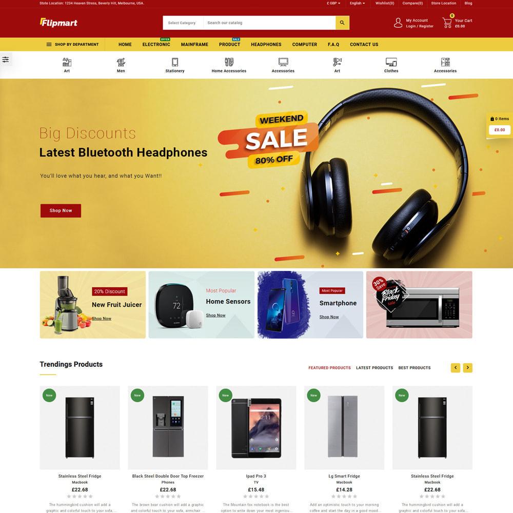 theme - Electrónica e High Tech - Flipmart Store - 2