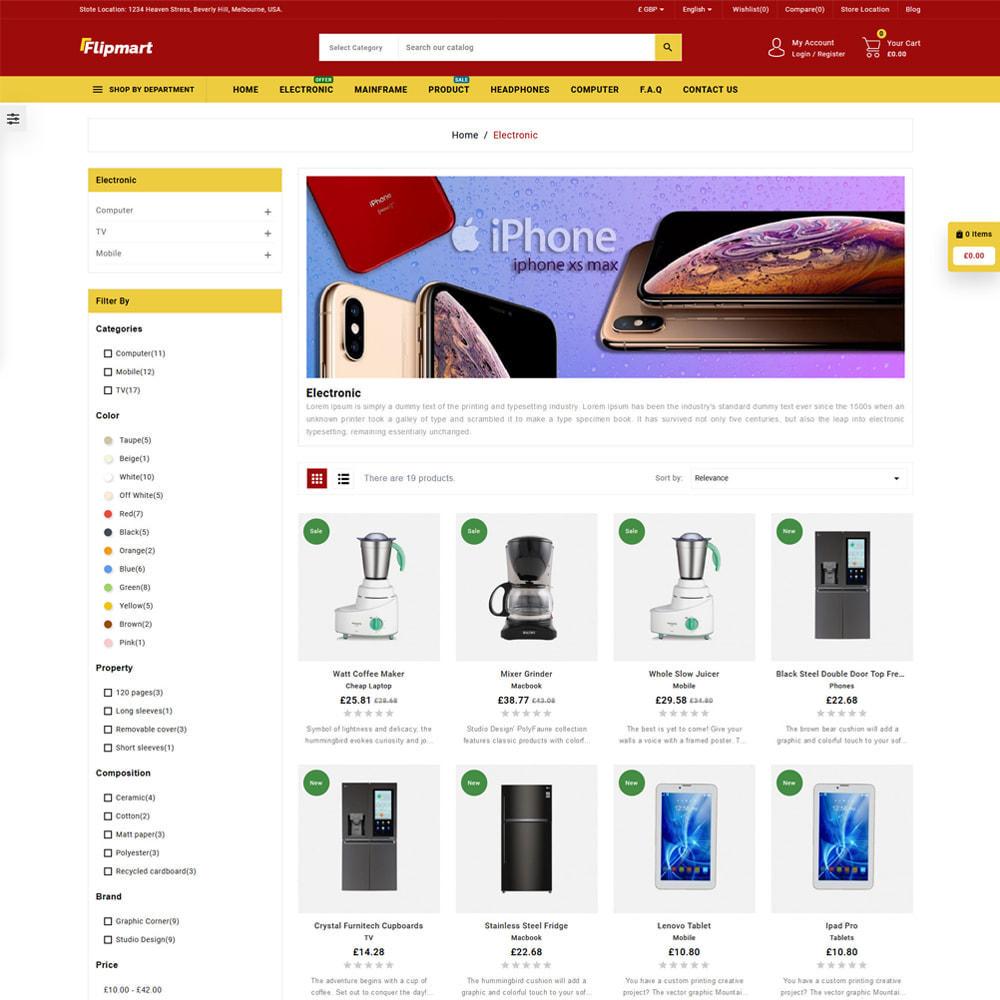 theme - Electrónica e High Tech - Flipmart Store - 3