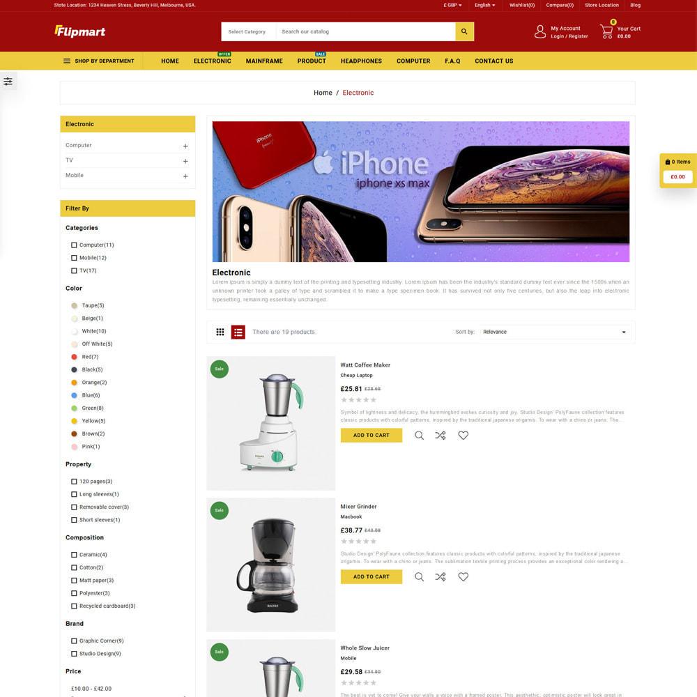 theme - Electrónica e High Tech - Flipmart Store - 4