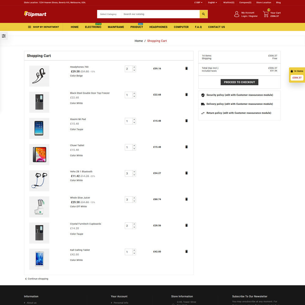 theme - Electrónica e High Tech - Flipmart Store - 6