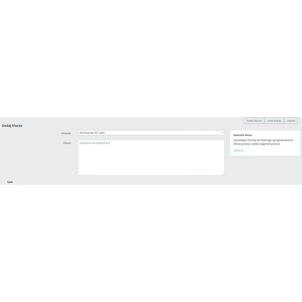 module - Bezpieczeństwa & Dostępu - Jumoke License sprzedaż kluczy do gier/programów + API - 3