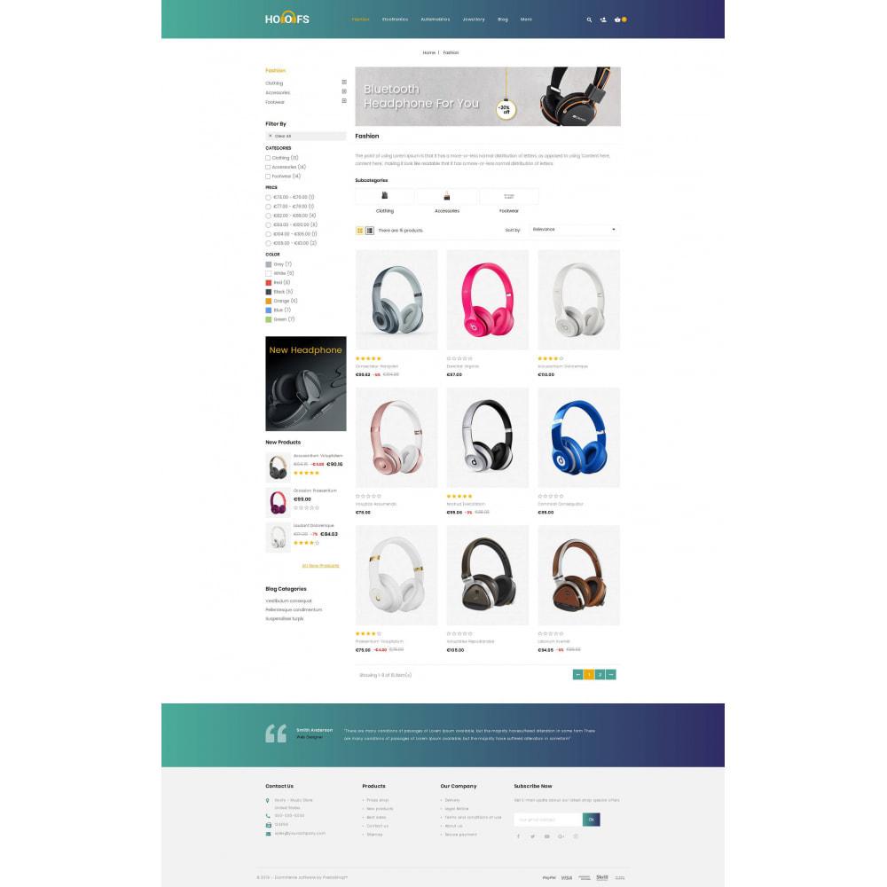 theme - Electronics & Computers - Hoofs - Headphone Store - 3