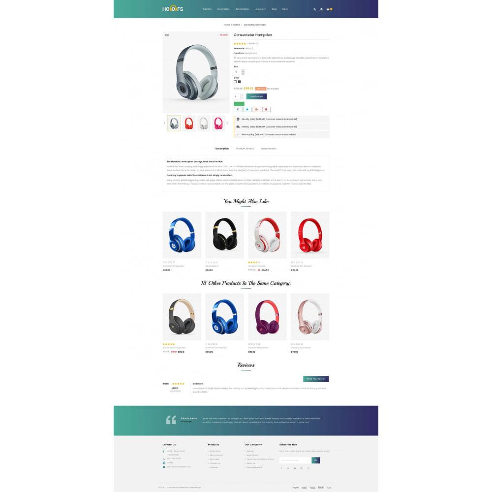 theme - Electronics & Computers - Hoofs - Headphone Store - 5