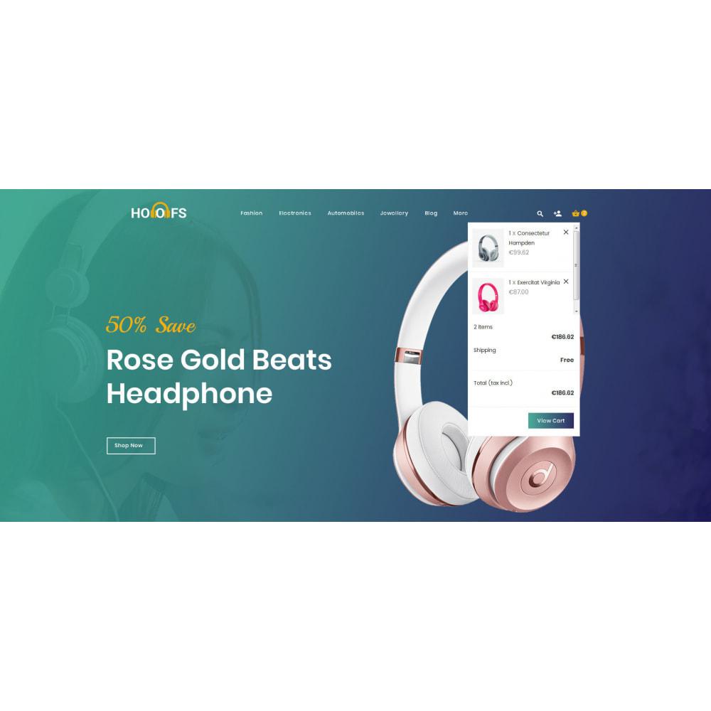 theme - Electronics & Computers - Hoofs - Headphone Store - 8