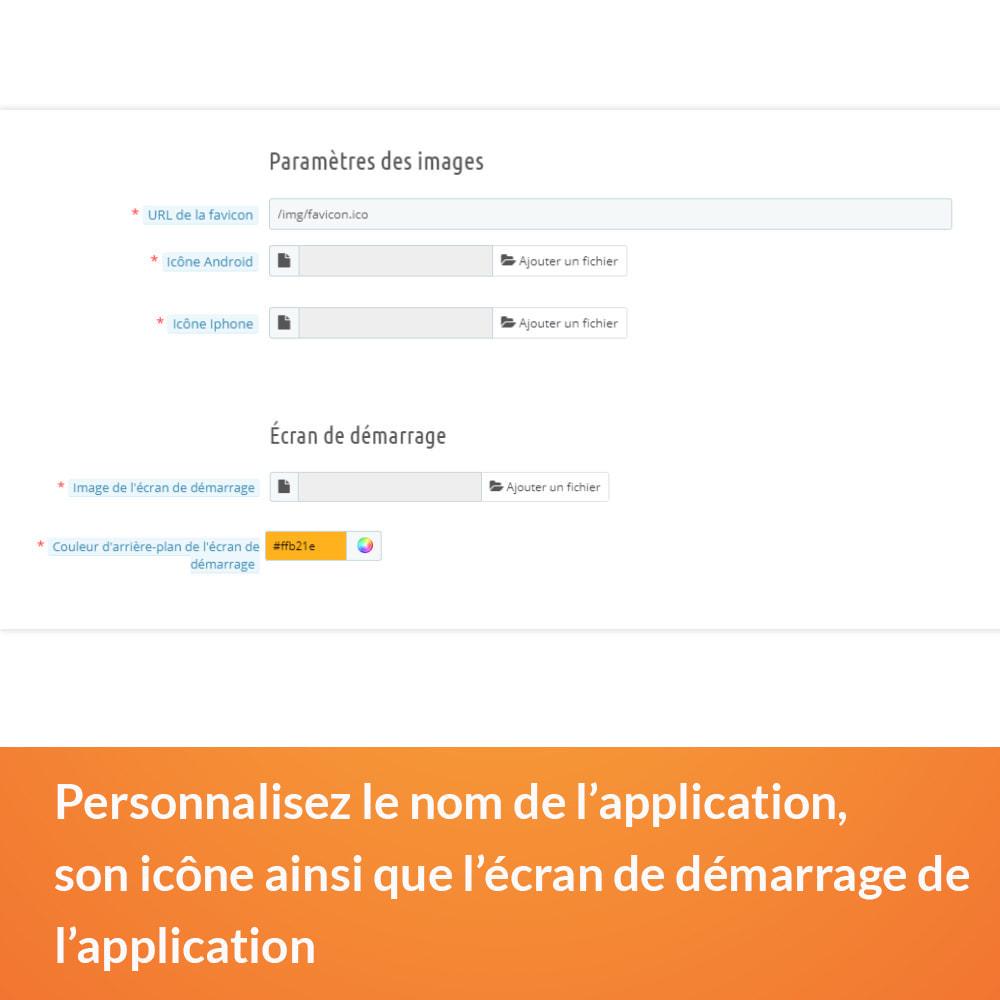 module - Mobile - Progressive Web App - Sans abonnement - 4