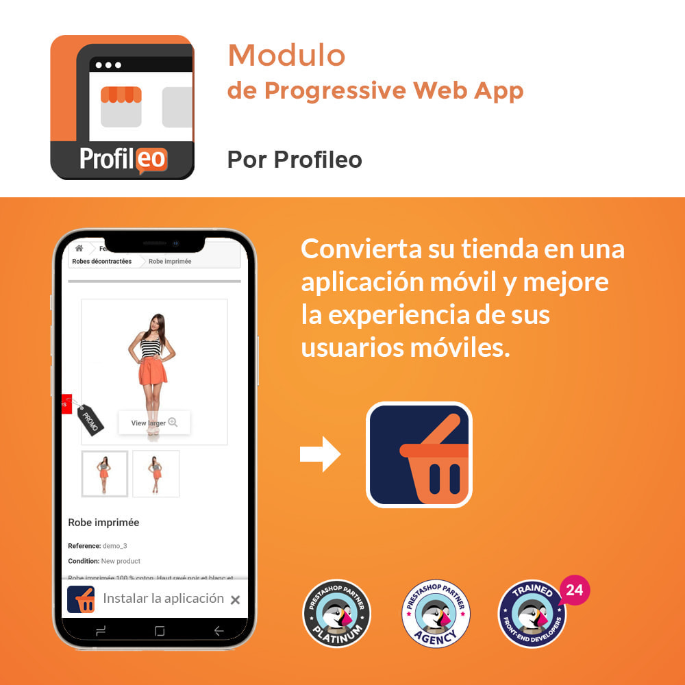 module - Dispositivos móviles - Progressive Web App - Sin suscripción - 1