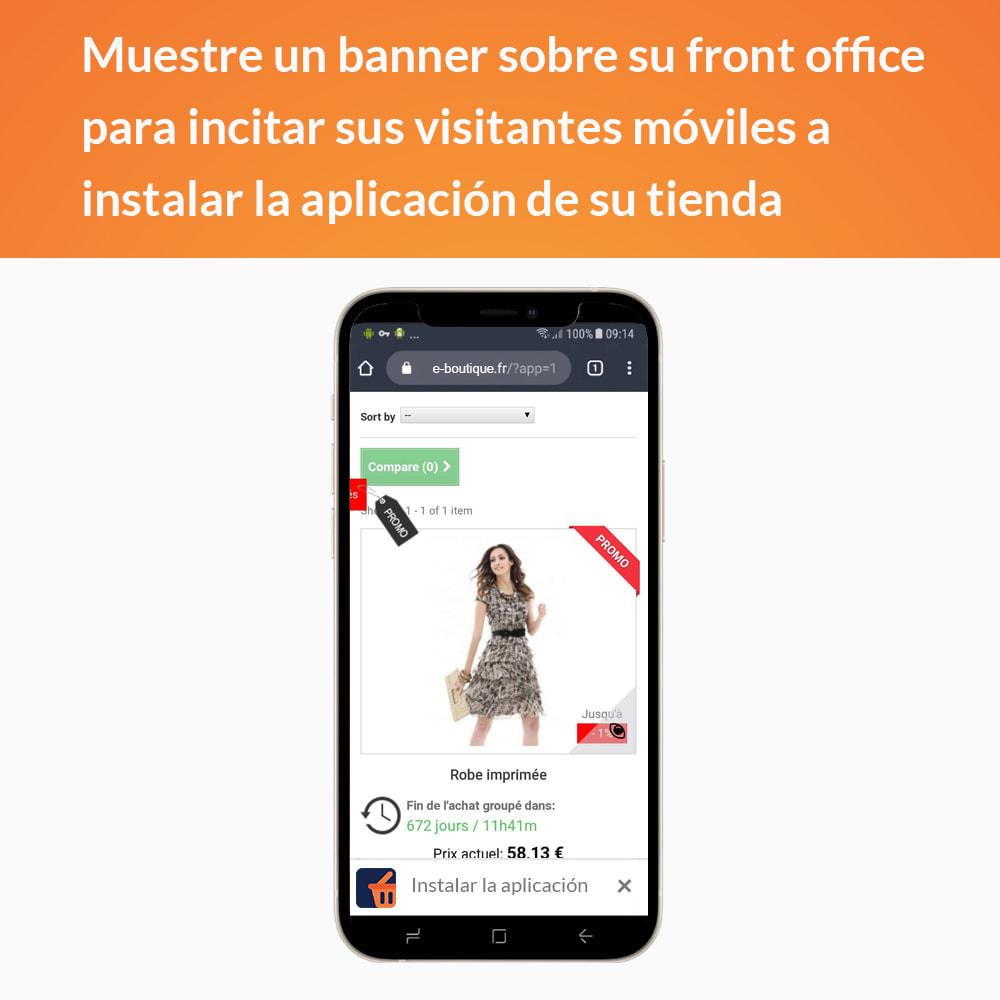 module - Dispositivos móviles - Progressive Web App - Sin suscripción - 2