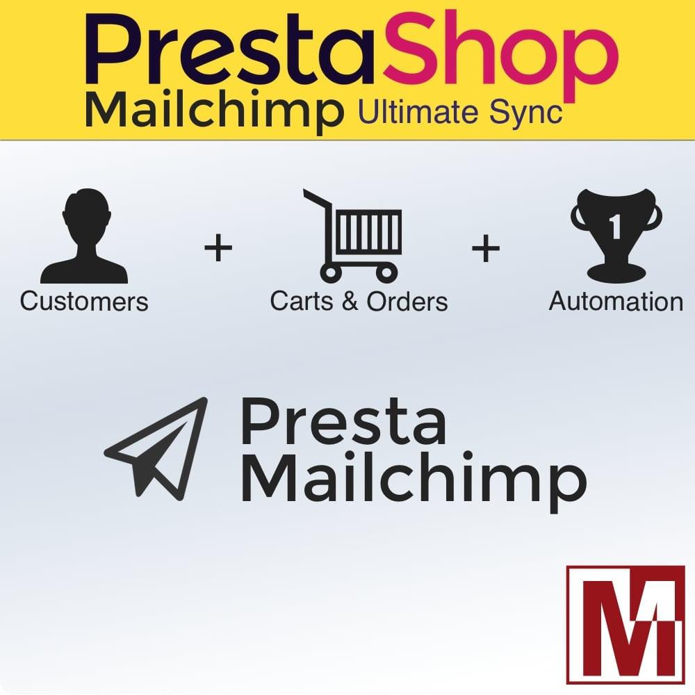module - Boletim informativo & SMS - Ultimate synchronization of Prestashop & MailChimp - 1
