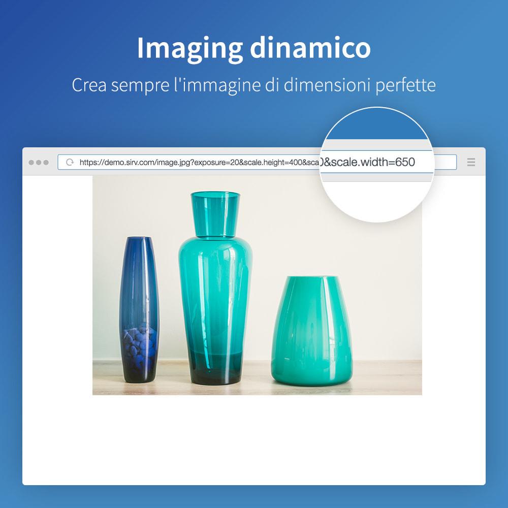 module - Website Performance - Sirv CDN e ottimizzazione: immagini, video, 360 spin - 3