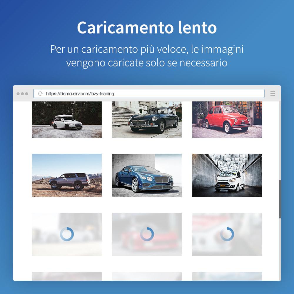 module - Website Performance - Sirv CDN e ottimizzazione: immagini, video, 360 spin - 5