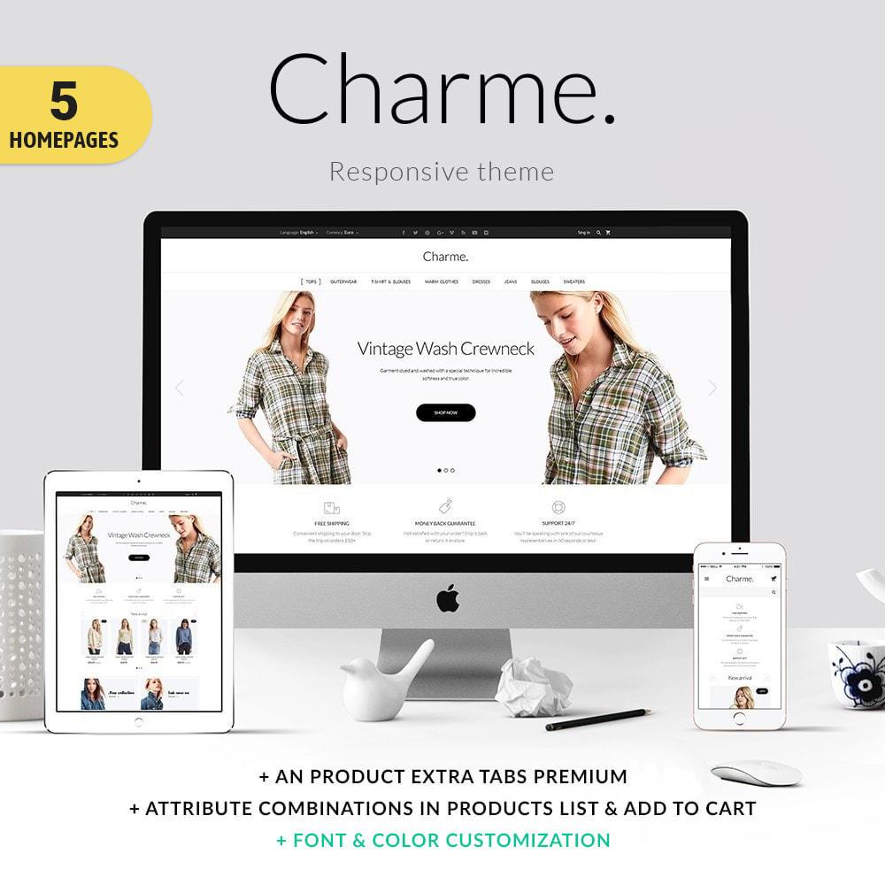 theme - Mode & Schuhe - Charme Fashion Store - 1