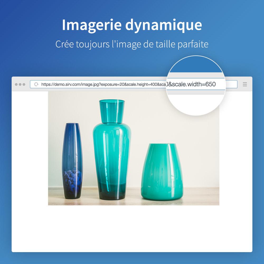 module - Performance du Site - Sirv CDN et optimisation - images, vidéo, 360 spin - 5
