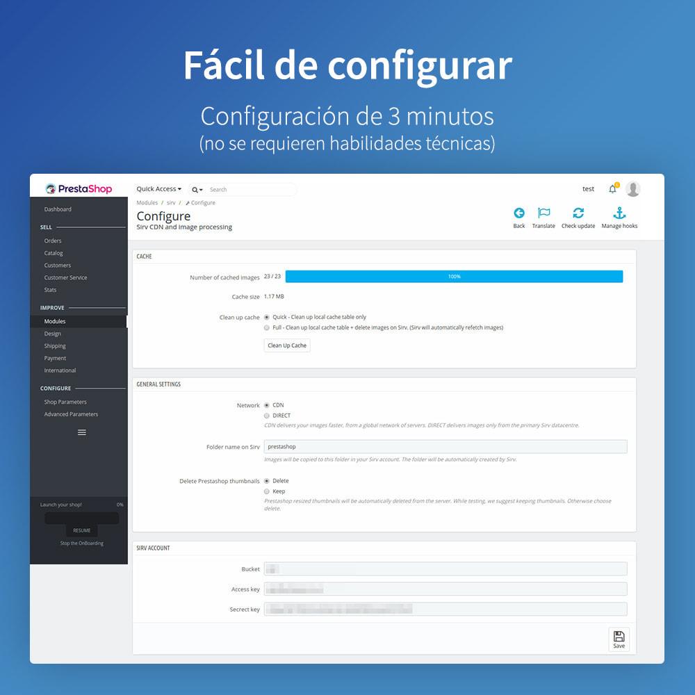 module - Rendimiento del sitio web - Sirv CDN y optimización: imágenes, video, giro 360 - 7