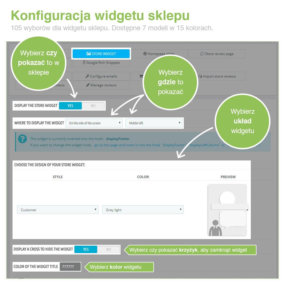 module - Opinie klientów - Reviews: Recenzje Sklepu i Produktów + Rich Snippets - 3