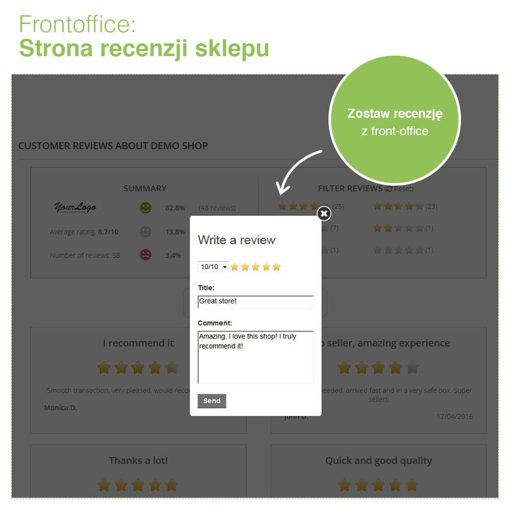 module - Opinie klientów - Reviews: Recenzje Sklepu i Produktów + Rich Snippets - 9