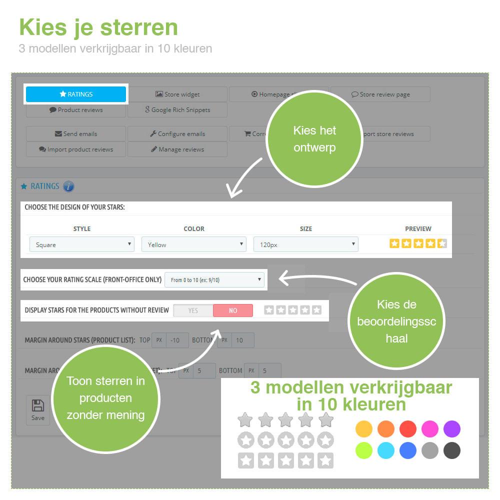 module - Klantbeoordelingen - Shop Recensies + Productbeoordelingen + Rich Snippets - 2