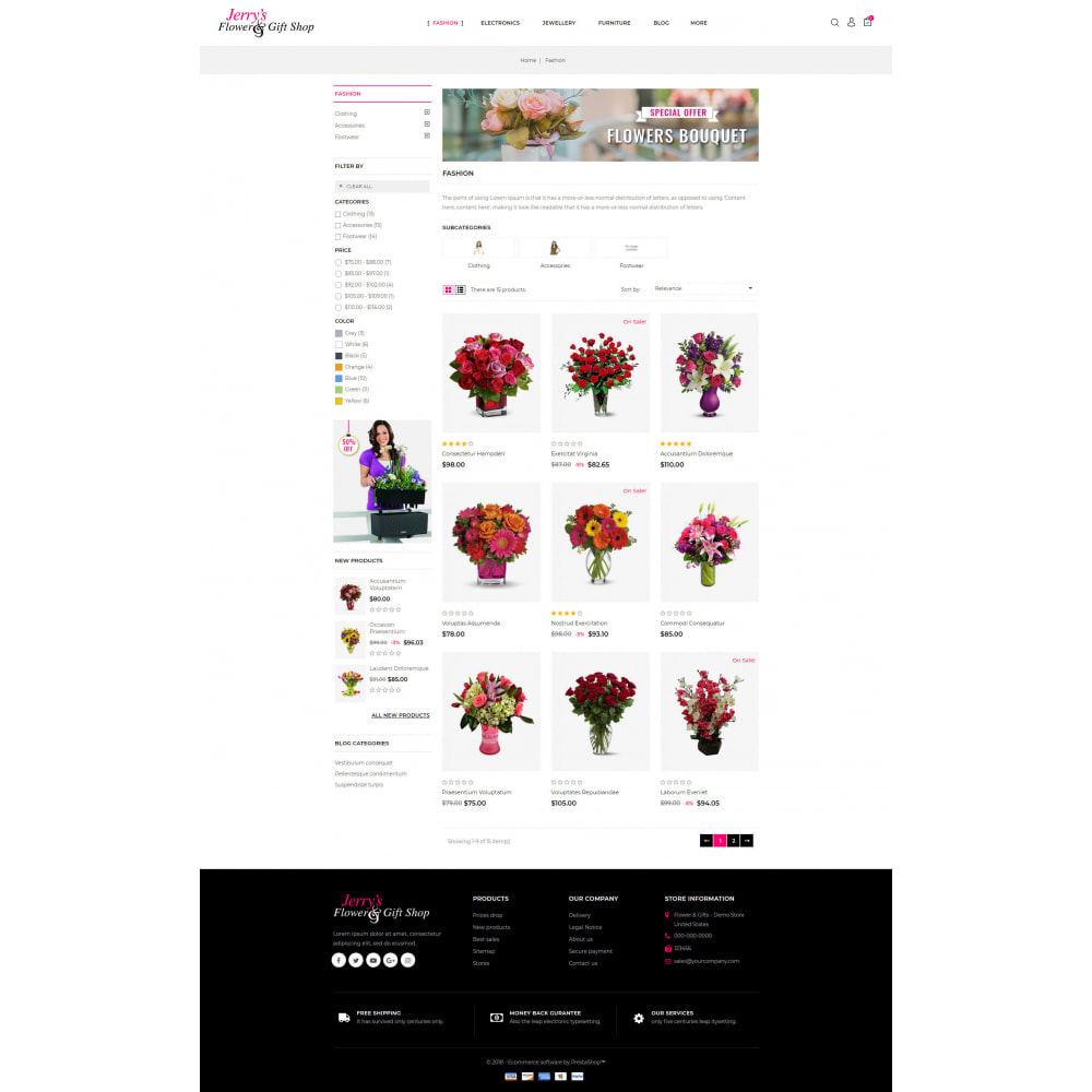 theme - Gifts, Flowers & Celebrations - Flower & Gift Store - 3