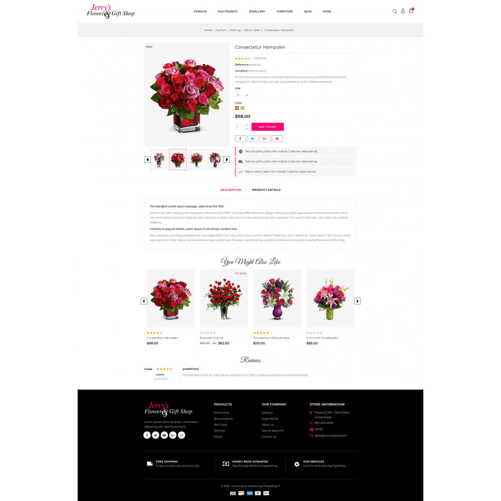 theme - Gifts, Flowers & Celebrations - Flower & Gift Store - 5