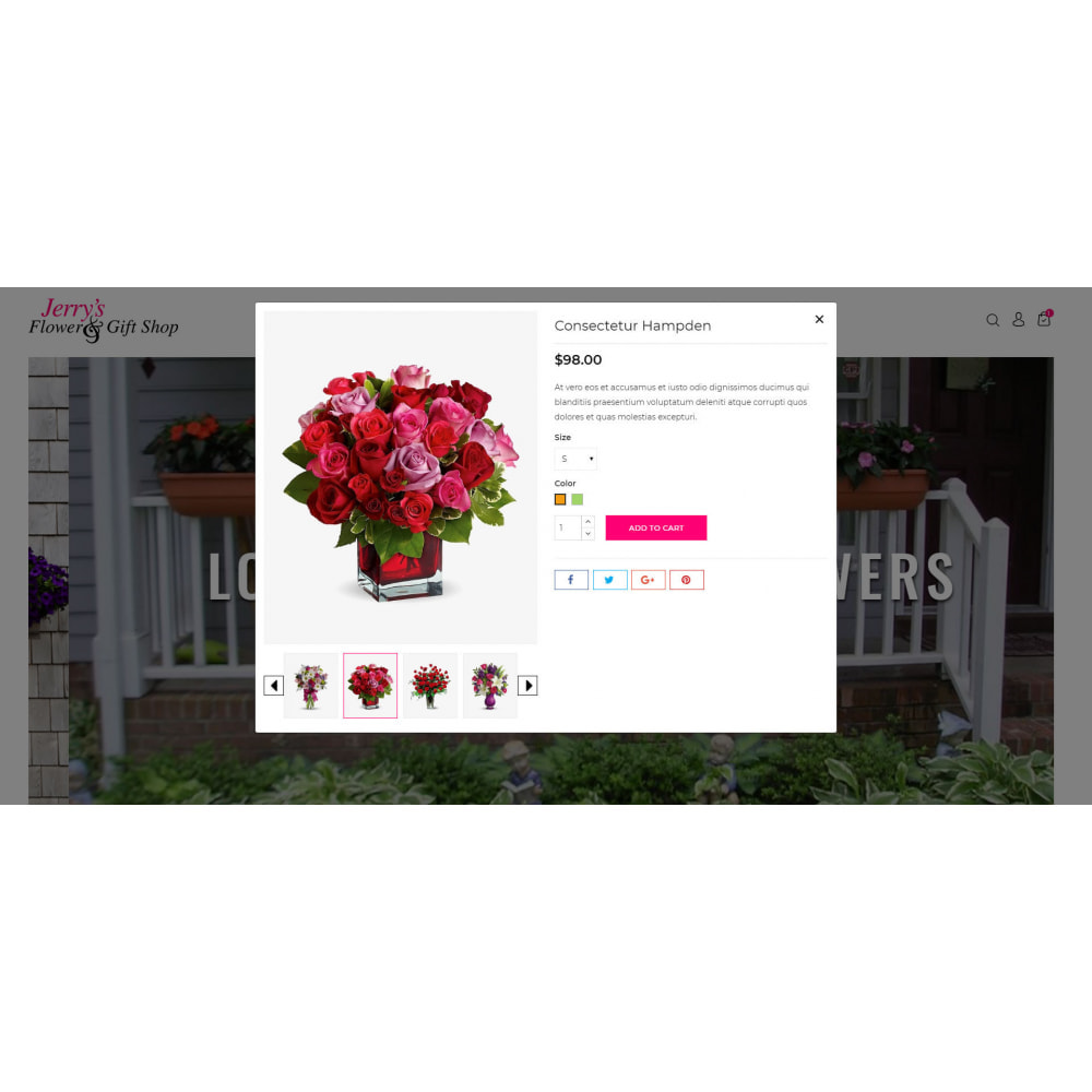 theme - Gifts, Flowers & Celebrations - Flower & Gift Store - 7
