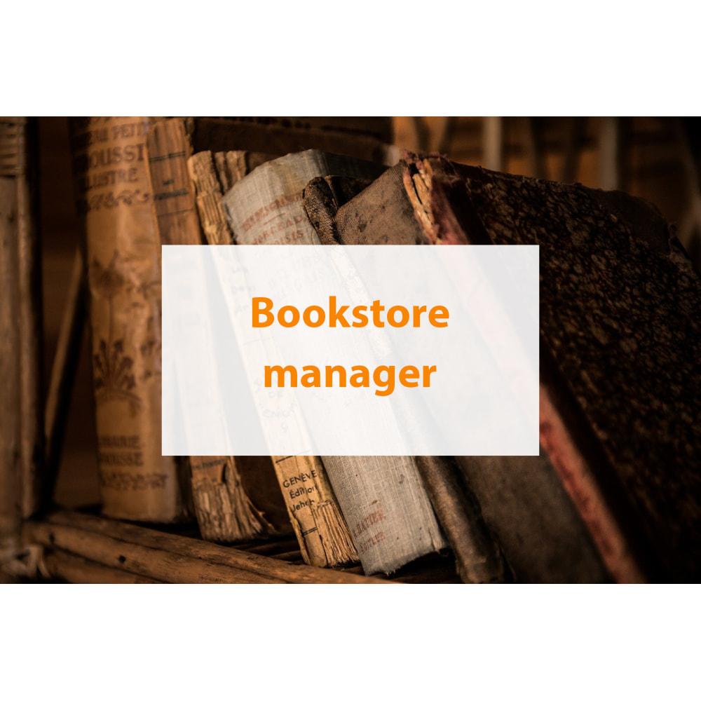 module - Wirtualne produkty - Bookstore manager - 1