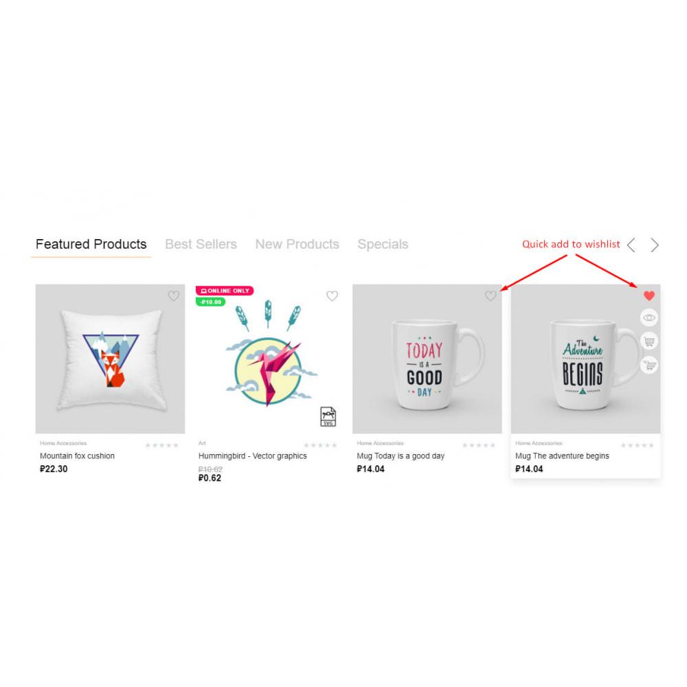 module - Список желаний и Подарочный купон - Wishlist with like counter - 3