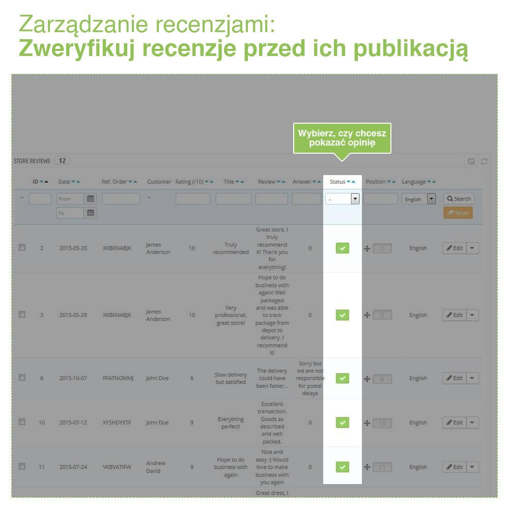 module - Opinie klientów - Reviews: Recenzje Sklepu i Produktów + Rich Snippets - 35