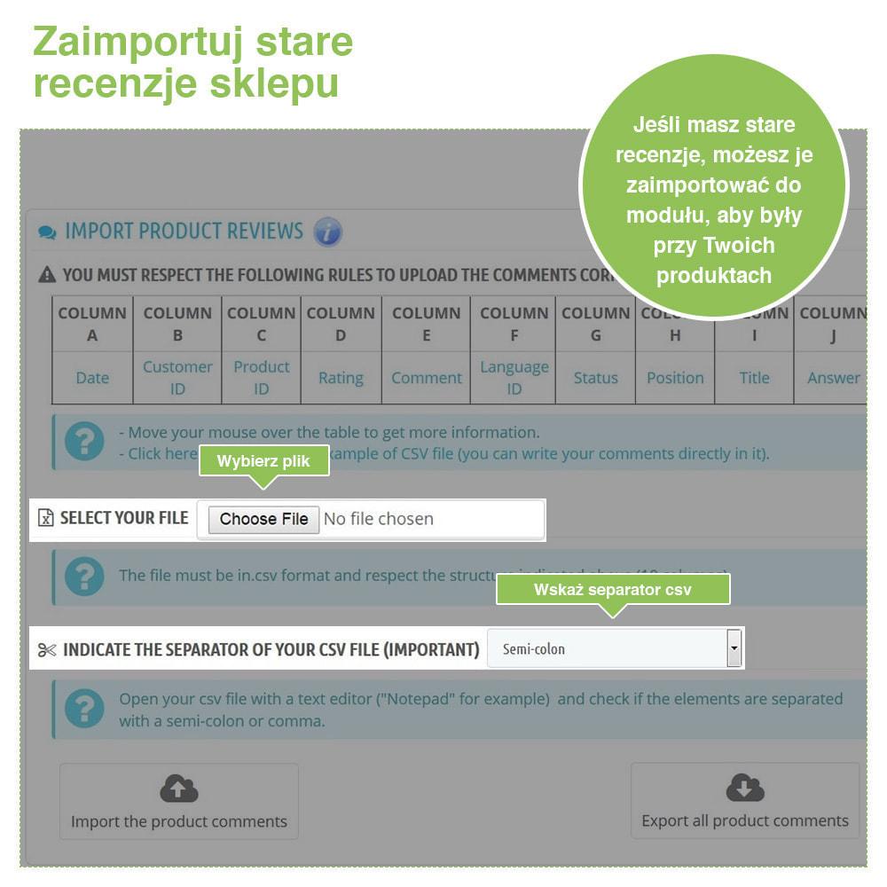 module - Opinie klientów - Reviews: Recenzje Sklepu i Produktów + Rich Snippets - 39