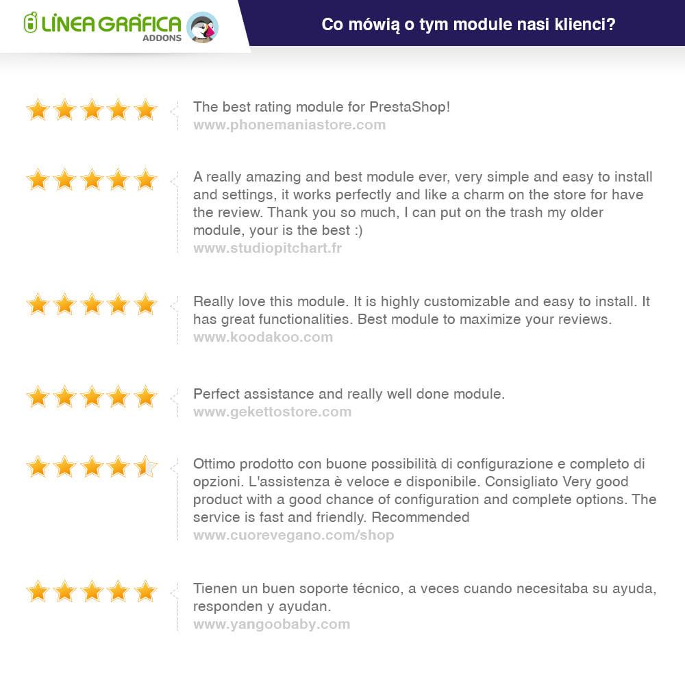module - Opinie klientów - Reviews: Recenzje Sklepu i Produktów + Rich Snippets - 42