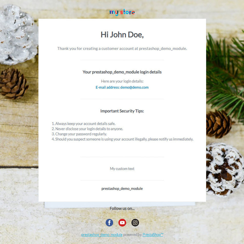 email - PrestaShop email templates - Stark - Rb Email Template Pro - 2