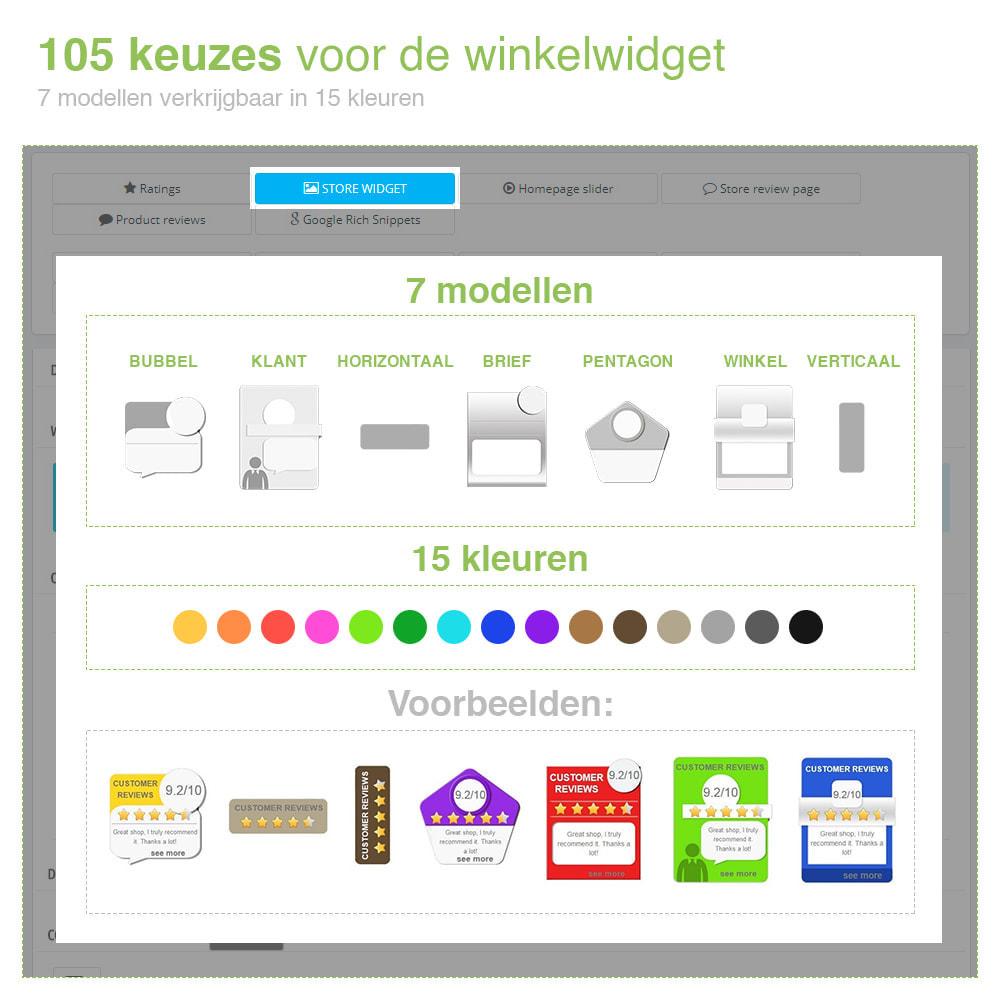 module - Klantbeoordelingen - Shop Recensies + Productbeoordelingen + Rich Snippets - 4
