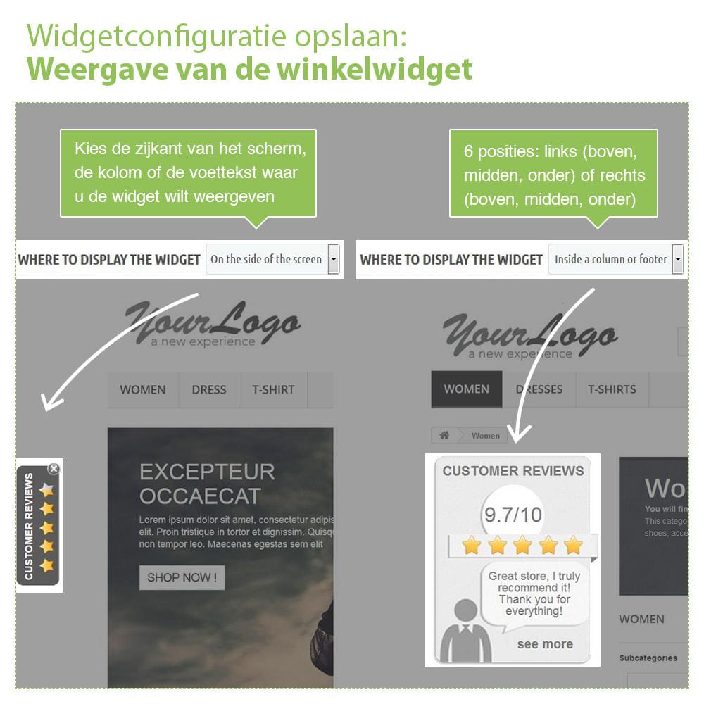module - Klantbeoordelingen - Shop Recensies + Productbeoordelingen + Rich Snippets - 5