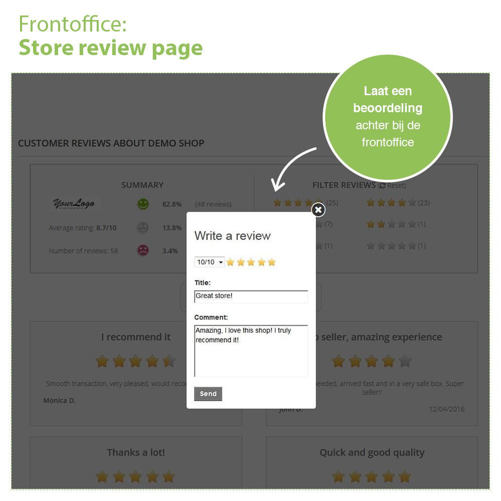 module - Klantbeoordelingen - Shop Recensies + Productbeoordelingen + Rich Snippets - 9